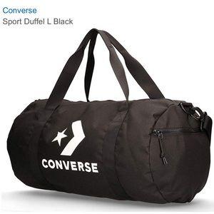 Converse Sport Duffel Large Black AUTHENTIC